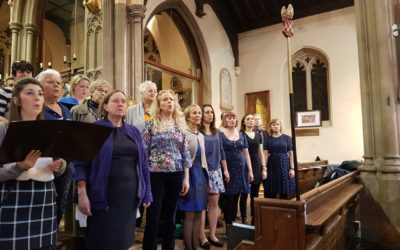 £300 raised for Choir with No Name!